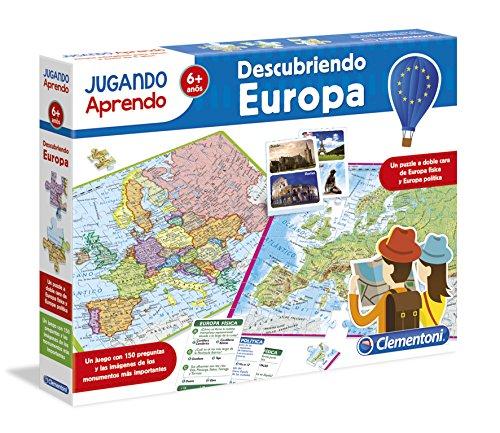 Clementoni - Jugando aprendo, descubre Europa (55120.0)