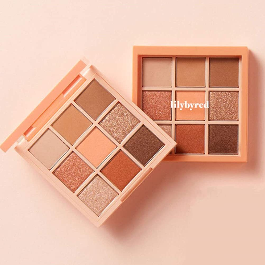 ホラー発生どういたしましてLILYBYRED Mood Cheat Kit Eyeshadow Palette #Peach Energy 告発色、高密着、告知の中独歩的な高クオリティアイシャドウパレット9color(並行輸入品)