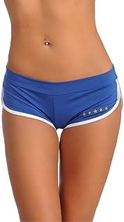 SANNA'S ブラジル マイクロ ショーツ?ブルー