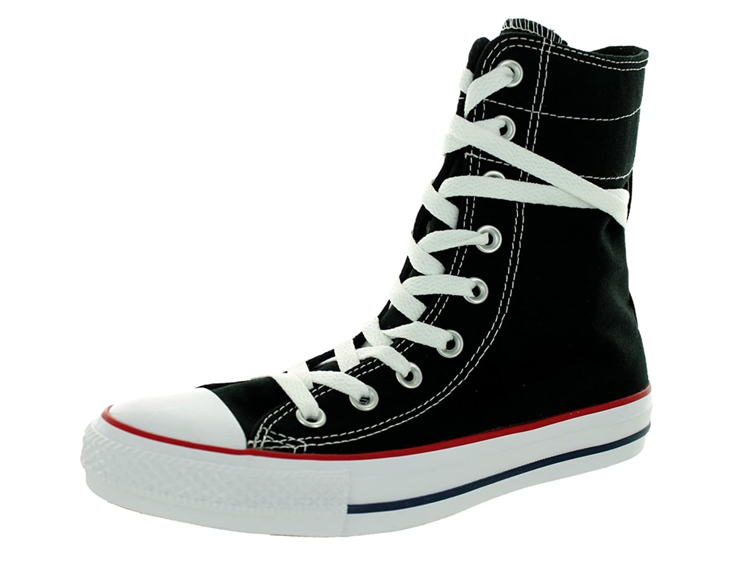 関与するねじれ等々Converse Women's Chuck Taylor Hi-Rise Extra High High-Top Canvas Fashion Sneaker