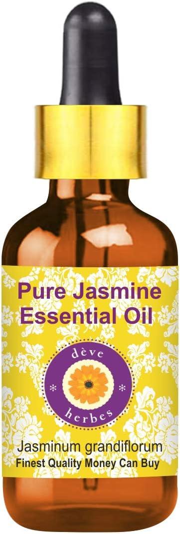 Deve Herbes Pure Jasmine Essential Oil w Import grandiflorum Jasminum OFFer