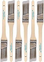 فرش طلاء فيرمير - عبوة من 6 قطع - فرش وشاح بزاوية 2.54 سم لجميع طلاءات وألوان الزيت واللاتكس - تحسين المنزل - للاستخدام ال...