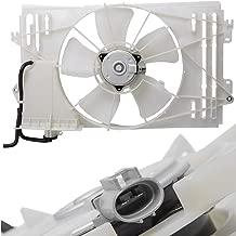 TOPAZ 16361-0D090 Radiator Fan Assembly for 2003-2008 Toyota Corolla Matrix Pontiac Vibe 1.8L