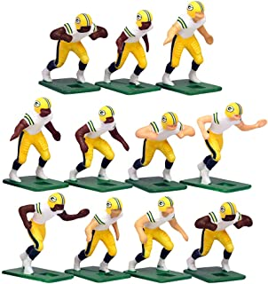 Green Bay Packers Away Jersey NFL Action Figure Set