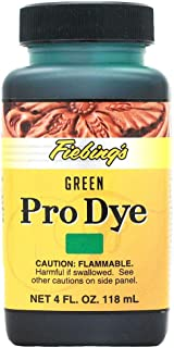 fiebings green leather dye