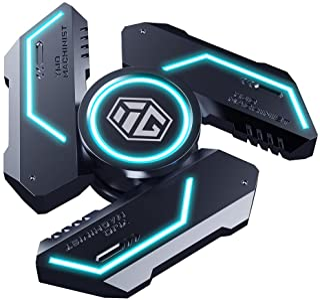 INNÔPLUS Fidget Spinners, Fidget Spinners for Kids,Fidget Toys, Fidgets for Kids, Metal Fidget Spinner with Luminous Light...