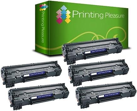 Printing Pleasure, cartuccia toner compatibile CF244A 44A per HP LaserJet Pro M15a M15w M16a M16w MFP M28a M28w M29a M29w – nero ad alta resa