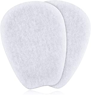 3 Pairs of Felt Tongue Pads for Shoes, Size Large