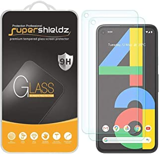(2 Pack) Supershieldz for Google Pixel 4a [Not Fit for Pixel 4a 5G] Tempered Glass Screen Protector, 0.32mm, Anti Scratch,...