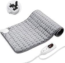وسادة تدفئة كهربائية من انو تيك للظهر والرقبة والكتف، 6 خيارات لدرجة الحرارة الكهربائية، 4 اعدادات لدرجة الحرارة - ايقاف ت...