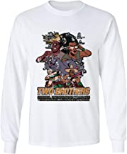 RIVEBELLA New Graphic Tee Rick Morty Shirt Two Brothers Graphic Men's Long Sleeve T-Shirt