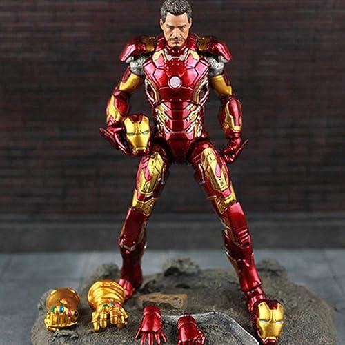 venta directa de fábrica The Avengers 2 Model MK43 Doll Iron Man Man Man Modelo Figura De Acción con Accesorios para La Decoración De Regalos  online al mejor precio
