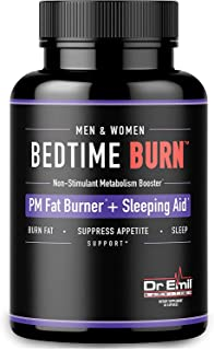 Dr. Emil - PM Fat Burner, Sleep Aid and Night Time Appetite Suppressant - Stimulant-Free Weight Loss Pills and Metabolism ...