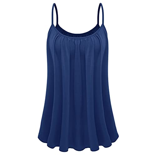 0113ce2837f 7th Element Womens Plus Size Cami Basic Camisole Tank Top