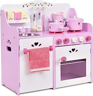 Amazon Com Toy Kitchen Sets Birth To 24 Months Kitchen Playsets Kitchen Toys Toys Games