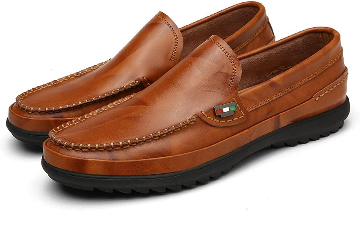 Men's Drive Loafers for Casual and high-end Breathable Soft Leather Soles Oxford Cricket shoes