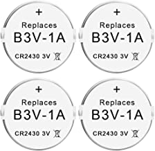 Abeden B3V 1A Lithium Replacement Batteries Compatible with High Tech Pet Single Electronic Collar Battery for Model MS-4 and MS-5(4 Pack)
