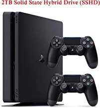 NexiGo 2019 Newest Playstation 4 Holiday PS4 Bundle Upgraded 2TB SSHD with Two Dualshock 4 Wireless Controller