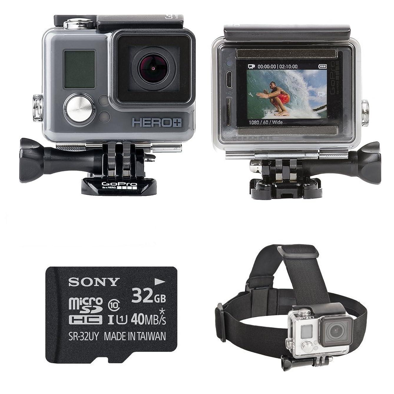 GoPro HERO+ LCD Camera Bundle