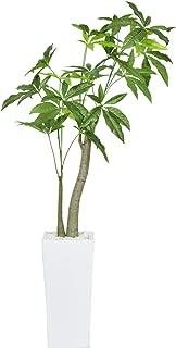 DORIS 観葉植物 人工観葉植物 高さ約107cm 本物に近い質感 水やり不要 陶器鉢 パキラ M