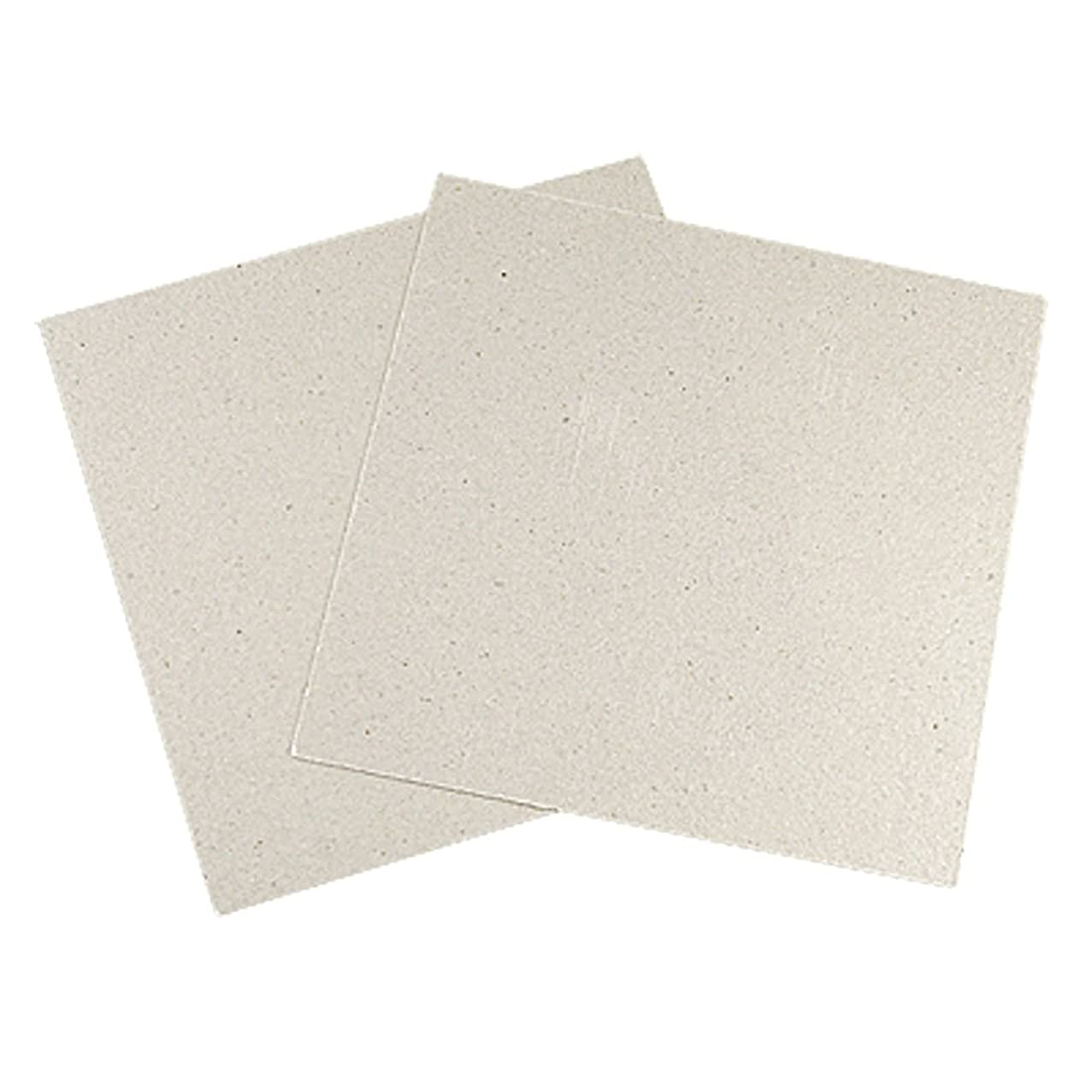uxcell Mica Plates Replacement for Microwave Oven 12 x 12cm 2 Pcs