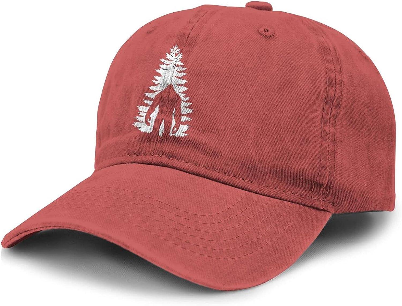 PARKNOTES Bigfoot Sasquatch Tree Cheap and Durable Adult Cowboy Hat Unisex
