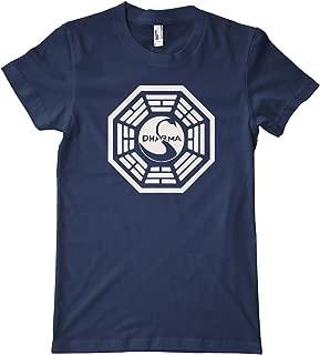 HiveTees Men's Dharma Swan Logo Shirt