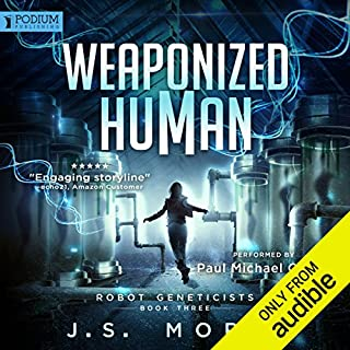 Weaponized Human audiobook cover art