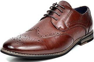 Bruno Marc Hombles Zapatos de Cordones Oxford Vestir Clásicos