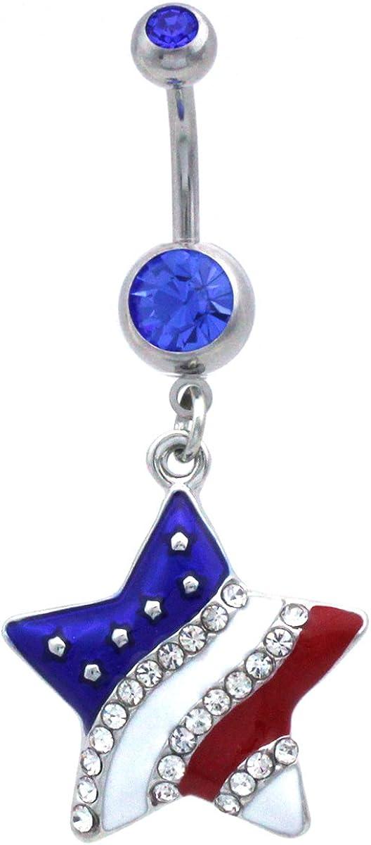 Silver flip flop belly button ring Flip flop belly button ring Crystal belly button ring Crystal flip flop belly button ring