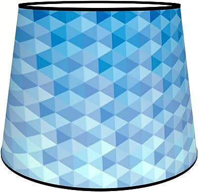 Abat-jours 7111308018260 Conique Imprimé Tom Lampadaire, Tissus/PVC, Multicolore