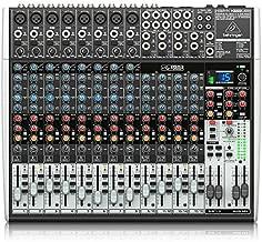 Behringer Xenyx X2222USB Premium 22-Input 2/2-Bus Mixer with USB/Audio Interface,Black
