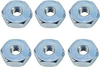 HIPA (Pack of 6) Sprocket Cover Bar Nut for STIHL 010 011 012 024 026 028 029 030 031 032 034 036 038 039 041AV 042 044 046 048 064 066 Chainsaw