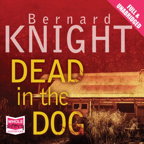 Dead in the Dog audiobook cover art