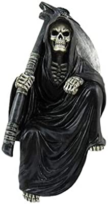 Nothing But Time Grim Reaper Figurine 5.75 Inches