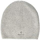 Gant D1. Solid Knit Hat Gorro de Punto, Gris (Light Grey Melange 94), Talla única para...