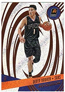 2016-17 Revolution Basketball #11 Devin Booker Phoenix Suns Official NBA Card From Panini America