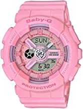 Casio Baby-G G-Shock BA-110 Series BA110-4A1 46.3mm Resin Women's Watch (Pink)