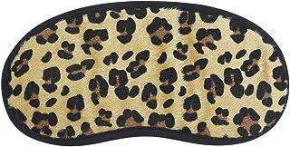 Leopard Sleeping Eye Mask Blindfold Soft Sleep Aid Cover for Women Girls Kids Traveling