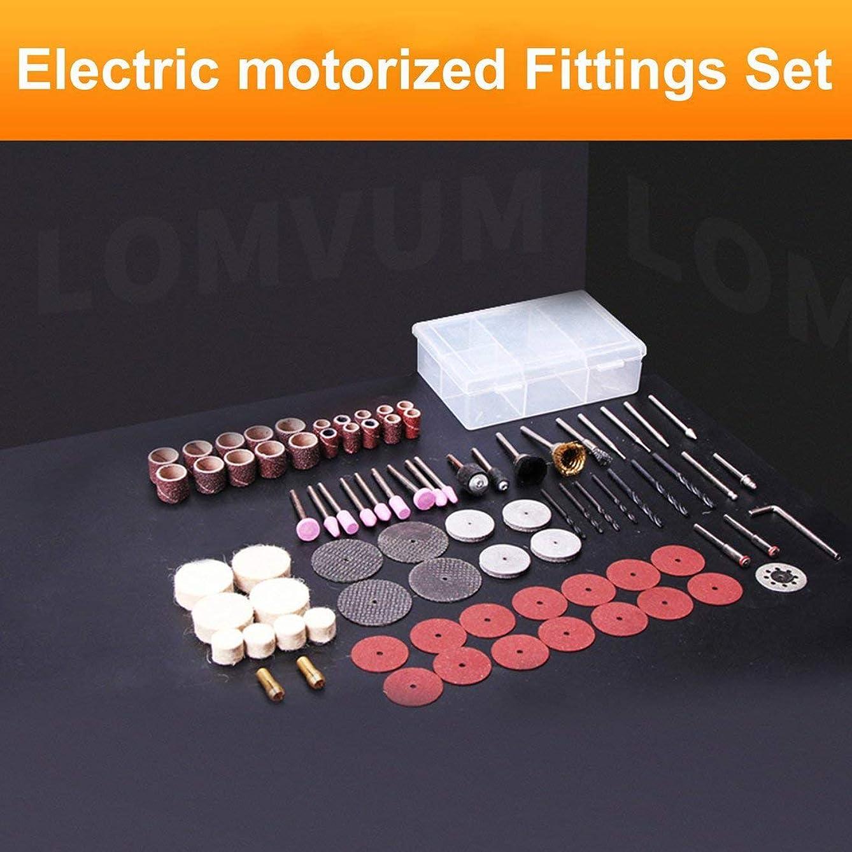 アジャパキスタン同意電動ロータリーパワーツールグラインダーアクセサリーサンディング研磨に適しています研削クリーニング発塵ダストアクセサリー(多色) (Rustle666)