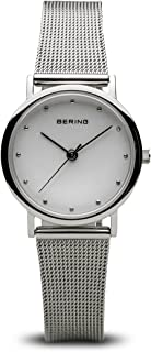 BERING Time 13426-000 Womens Classic Collection Watch with Mesh Band and Scratch Resistant Sapphire Crystal. Designed in Denmark.