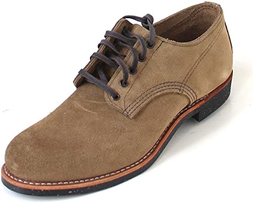 rot Wing Mens Merchant Oxford 8043 Suede schuhe