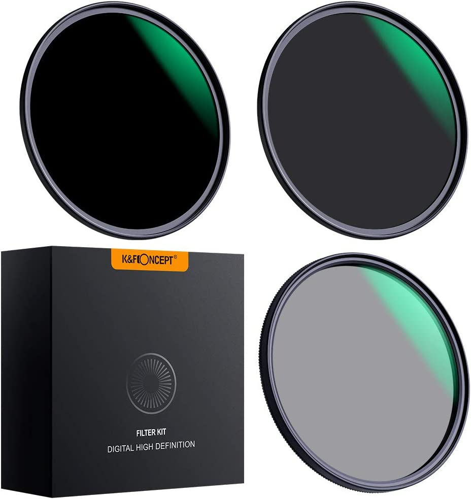 KF Concept At the price 82mm Lens Filter Sets Density ND8 CPL Max 72% OFF ND64 C Neutral