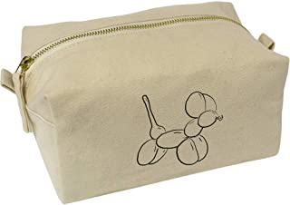 'Balloon Dog' Canvas Wash Bag / Makeup Case (CS00018433)