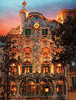 Springbok Puzzles - Batlló House - 500 Piece Jigsaw Puzzle - Large 18 Inches by 23.5 Inches Puzzle - Made in USA - Unique Cut Interlocking Pieces