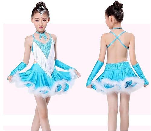 Peiwen Belle Robe de Danse Enfant Danse de Jupe Fille