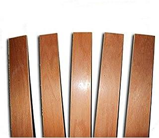 Ricambio per Doga 6,7 X 77 X 0,8 Cm Listello Curvato in Legno di Faggio per Letto con Telaio in Legno Larghezza 80 cm