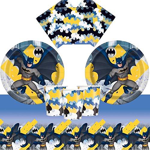 Batman Party Pack für 8 Gäste