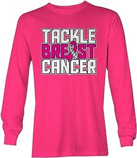 Tackle Breast Cancer - Pink Ribbon Hope Unisex Long Sleeve Shirt
