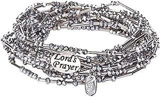 Alexa's Angels The Lord's Prayer in Morse Code Wrap Bracelet